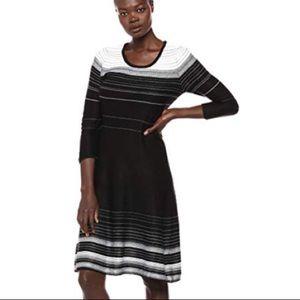 Make Offer! Nine West knit long sleeve Dress